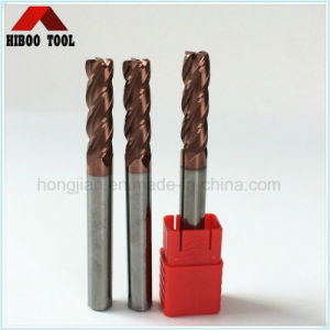 Tungsten Carbide Long Shank Corner Raduis End Mill pictures & photos