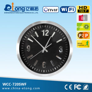 WiFi IP Cool Cam Wireless IP Camera with Internet Access Hidden in Wall Clock