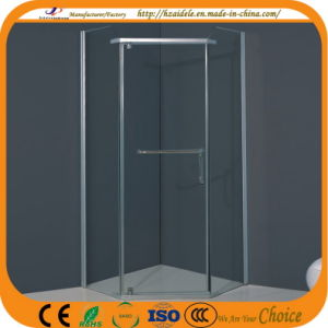 Without Tray Diamond Glass Bath Screen (ADL-8024) pictures & photos