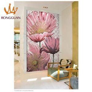 Pink Color Bizassa Mosaic Pattern Series (10k327) pictures & photos