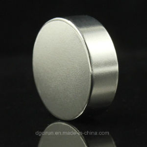 Dia 30mm*10mm N35 Rare Earth Round Disc Neodymium Magnet pictures & photos