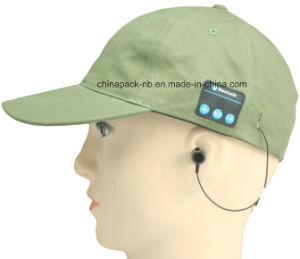 Wireless Bluetooth Baseball Music Cap W/ Mic for Men Earphones pictures & photos