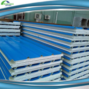 Lightweight Eco-Friendly Composite EPS Sandwich Wall Panel Supplier pictures & photos