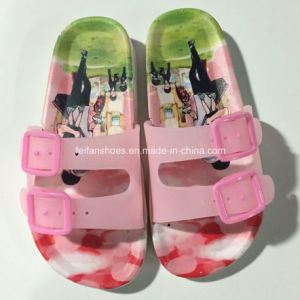 New Style Fashion Kids Print Cartoon EVA Sandal Slipper (FY16-1) pictures & photos