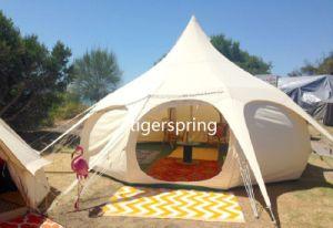 Diameter 4m Luxury Camping Sibley Tent Waterproof Lutos Belle Tent