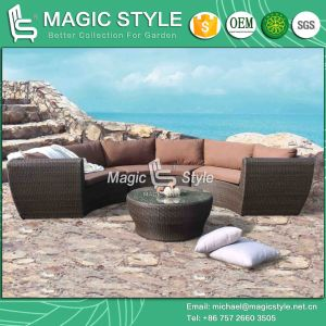 New Design Combination Sofa Wicker Furniture Outdoor Sofa Patio Furniture Garden Sofa Set Rattan Sofa pictures & photos