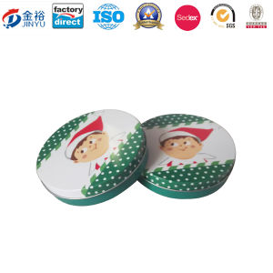 Round Shaped Metal Promotion Gift for Gift Packaging pictures & photos