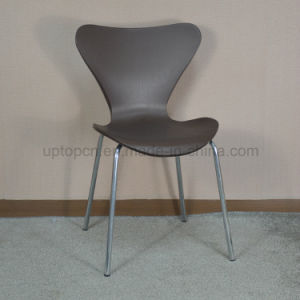 (SP-UC075) Stacking Food Court Plastic Arne Jacobsen Series 7 Chair pictures & photos