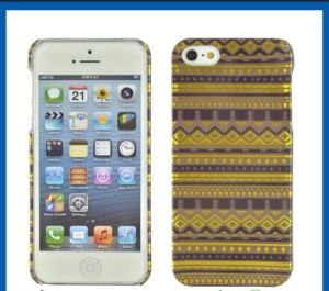 Hard PC Gold Foil Plastic Mobile Case for iPhone 5/5s pictures & photos