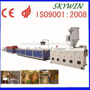High Quality PVC Wood Single-Screw Extrusion Line (With Natrual Wooden Grain)