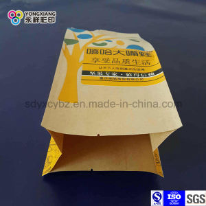 Laminated Paper 4-Side Sealing Snack Food Plastic Packaging Bag pictures & photos