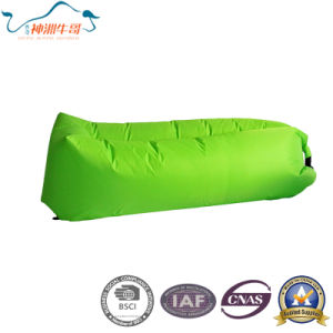 Convenience Lazy Air Inflatable Sleeping Bag for Camping pictures & photos