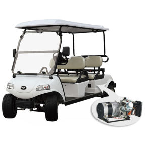 Electric Golf Carts with Hybrid Generator, 4 Seats pictures & photos