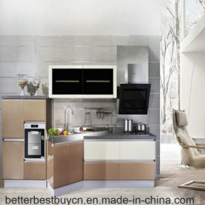 Popular Home Furniture Lacquer Kitchen Cabinet pictures & photos