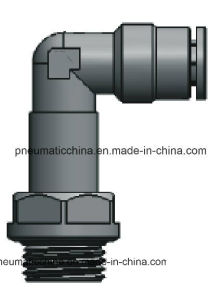 Brass Nickle-Plated Pneumatic Fittings From China Pneumission pictures & photos