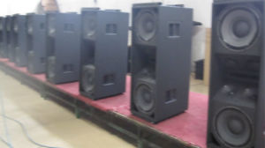 Dual 15 Inch Three Way High Power Line Array (VT4889) pictures & photos