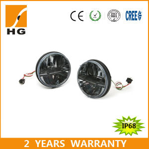 45W H4 Connector 7′′ Headlight for Harley Davidson pictures & photos