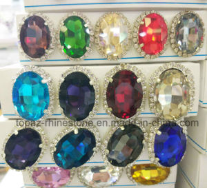 2016 Latest Oval Sew on Rhinestone Claw Setting Crystals (SW-Oval 18*25mm) pictures & photos