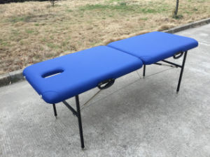 Metal Massage Table, Portable Massage Couch (MT-001) pictures & photos