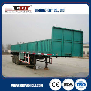 40feet 3 Axle Sidewall Cargo Semi Trailer with pictures & photos