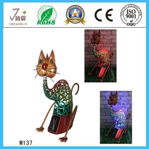 China Cheap Model Artificial Iron Cats Outdoor Garden Decoration pictures & photos