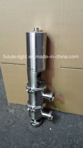 Food Grade Sanitary Stainless Steel Pneumatic Reversing Valve pictures & photos