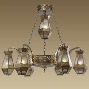 Church Decor Brass Chandelier Pendants (KAM001326-1100) pictures & photos