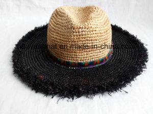 Crocheted Raffia Straw Leisure Style Safari Hats pictures & photos