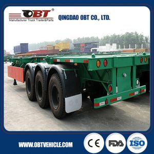 40t Semi Truck Trailer Dropside/Sidewall Semi Trailer pictures & photos