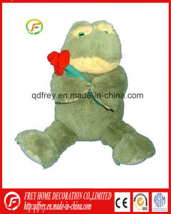 Plush Soft Toy of Stuffed Frog for Christmas Gift pictures & photos
