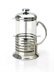 Pyrex Glass French Press Coffee Pot with S. S Filter and Handle