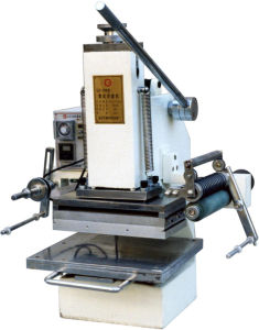 High Pressure Leather Card Embossing Manual Hot Stamp Machine (Tam-358-A4) pictures & photos