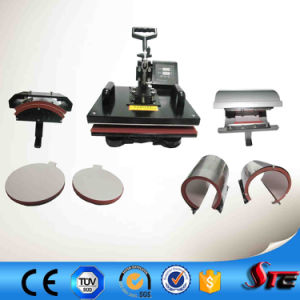 Stc-SD08 CE Approved 8 in 1 Multifunctional Combo Digital Combo Heat Press Machine pictures & photos