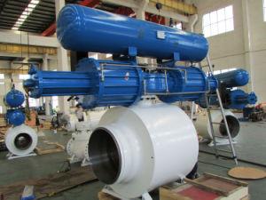"Fully Welded Ball Valve Size: 2~60"" (DN50~DN1500)"