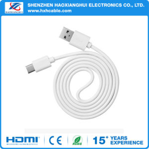 1m White USB3.1type C Quick Charge USB Data Line Cable pictures & photos