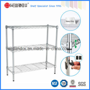 Adjustable Chrome Light Duty Houshold Wire Storage Shelving (LD603590C3) pictures & photos