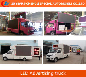 2016 New LED Advertising Truck LED Screen Mobile Truck P6 P8 P10 pictures & photos