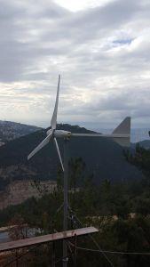 Horizontal 600W Small Wind Turbine Generator (200W-10kw) pictures & photos