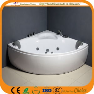 Double People Jacuzzi Indoor Corner Bathtub (CL-340) pictures & photos