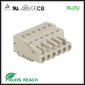 450 Series Female Connector with Spring-Cage Clamp pictures & photos