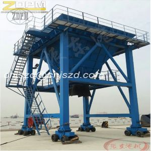 Mobile Port Hopper - Dust Collector Hopper Machine Track Orbit Type