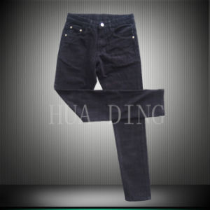 New Design High Quality Men′s Jean with Red Dots (HDMJ0048) pictures & photos