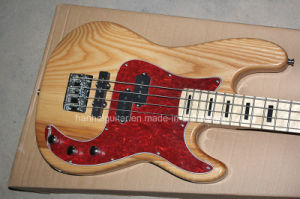 Hanhai Music / Ash Body Electric Bass Guitar with 4 Strings pictures & photos