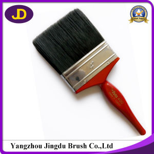 High Quality Wooden Handle Black Bristle Paint Brush pictures & photos