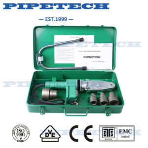 Ce Cheap Plastic Pipe Welding Socket Fusion Heating Machine pictures & photos