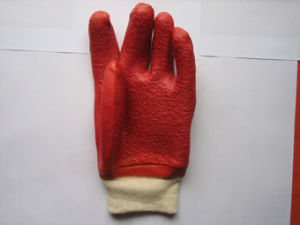 13G Jersey Liner PVC Work Glove with Anti-Slip Dots pictures & photos