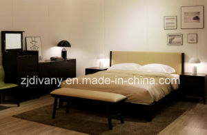 Modern Style Bedroom Furniture Wooden Bed (A-B37) pictures & photos
