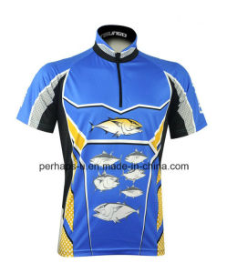 Quick-Drying Short Sleeve Fishing Jersey pictures & photos