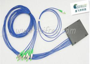 1*6 Plastic Box CATV FTTH Fiber Optic Splitter (CATV Splitter) pictures & photos