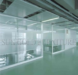 Popular Aluminum Glass Office Divider Not Reach Ceiling Partition (SZ-WS560) pictures & photos